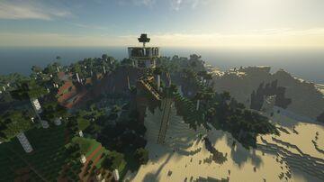 Beautiful Birch House Minecraft Map & Project