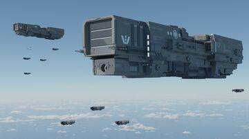 [Oscdea] Ardanu Class Warcruiser Minecraft Map & Project