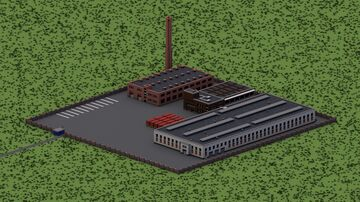 Glass factory Minecraft Map & Project