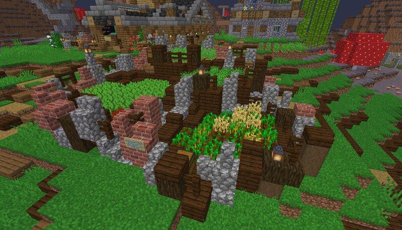 Simple Starter Farm - [World Download]