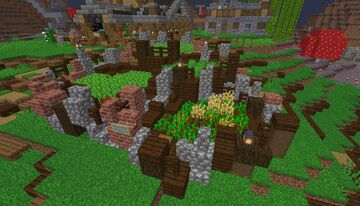 Simple Starter Farm - [Country Theme] - [World Download] Minecraft Map & Project