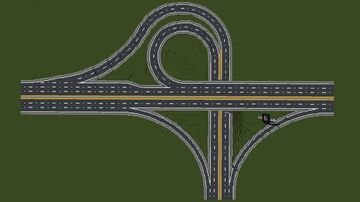 Roads, Intersection and Highways (Wecahop.com) Minecraft Map & Project