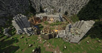 Cracked Tusk Keep (Skyrim TES) Minecraft Map & Project