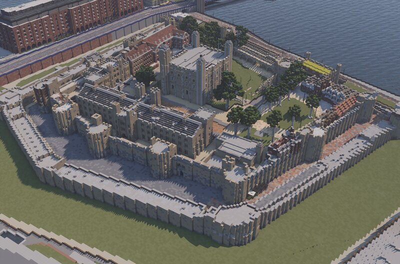 Tower of London 1:1 recreation