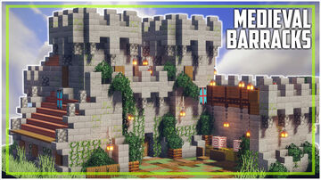 Medieval Barracks Minecraft Map & Project