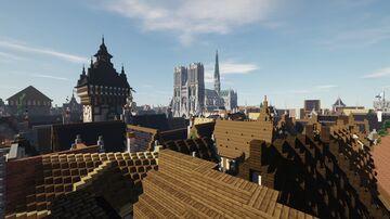 Medieval Tournament Minecraft - Le tournoi Medieval - ALENVINS PROJECT Minecraft Map & Project