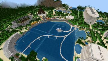 Jurassic World 2021 v1 My Minecraft Bedrock PE Dinosaurs Map World Download Minecraft Map & Project