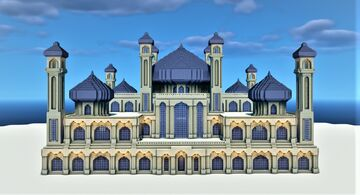 Ancient Sandstone Mosque Minecraft Map & Project