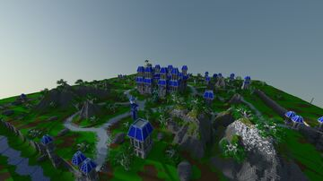 PvP Faction Spawn+Warzone by Lekilo_maitre Minecraft Map & Project