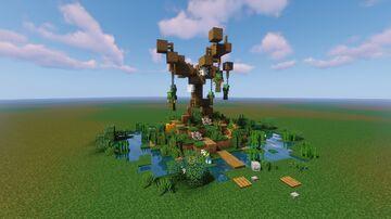 Hanging Tree - Halloween Build Minecraft Map & Project