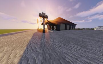 Modern City Update (New : New Restaurant) (this restaurant is my moms :) Minecraft Map & Project