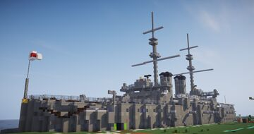BTE Battleship  mikasa museum Minecraft Map & Project