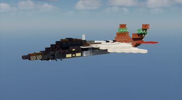 T-7A Redhawk - 2:1 Scale Minecraft Map & Project