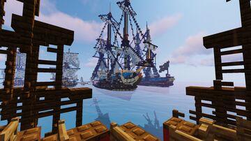 18th Century Sea Battle Minecraft Map & Project