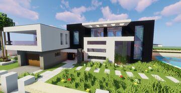 Modern House #P1 (Map + Schematics) Minecraft Map & Project