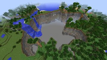 Everlong FREE BUILD Minecraft Map & Project