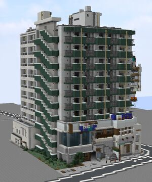 Buildings in Japan Minecraft Map & Project