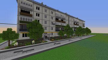 Russia City Home Version.2 : Русский дом версия 2. Minecraft Map & Project