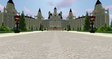 Roswaal Mather's Mansion - Re:Zero Destiny Minecraft Map & Project