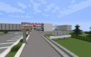 Chernobyl NPP before the accident version 1.14.4x Minecraft Map & Project