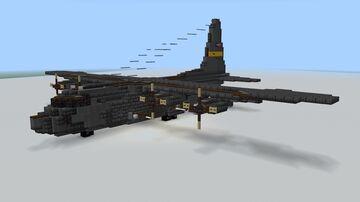 Lockheed AC-130 1.5:1 Minecraft Map & Project