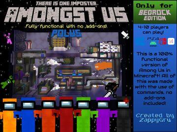 Amongst Us: Polus Minecraft Map & Project