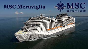 MSC Meraviglia (Full Interior)+ Download Full replica Minecraft Map & Project