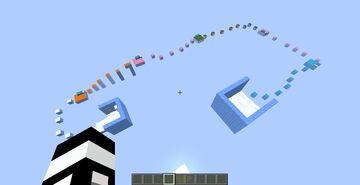 ice block parkour Minecraft Map & Project
