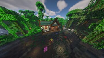 Just a Japanese themed house and some other things Minecraft Map & Project