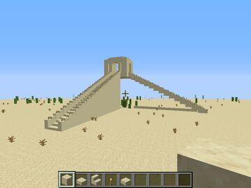 Ziggurat Of Ur Dhi Qar Province, Iraq, 21st century BC Minecraft Map & Project