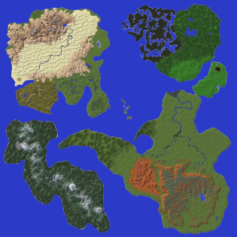 Overhead Map
