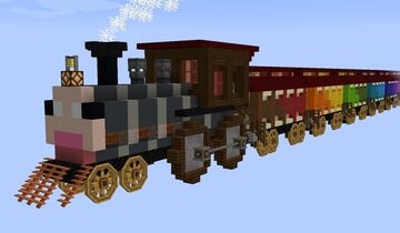 Trainbow Express - Craft to Exile Dissonance Minecraft Map & Project