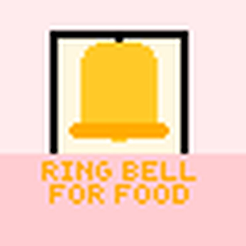 Ring Bell For Food included in custom resource pack