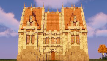 i built a bdubs inspired build Minecraft Map & Project