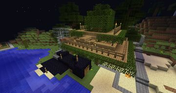 Old Treehouse Minecraft Map & Project