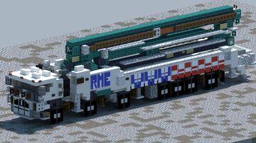 Mack MRU, Alliance 65 Concrete pump truck [With Download] Minecraft Map & Project