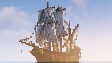 Large Survival Ship (LITEMATICA, 1.17.1) Minecraft Map & Project