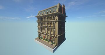 HAUSSMANIAN BUILDING / FULLY FINISHED / (COCRICOT) 1.12.2 Minecraft Map & Project