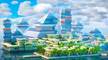 Pyramid Island Minecraft Map & Project