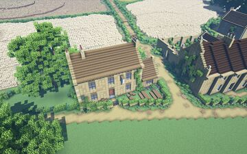 The Plough Shed Inn, Edensor Minecraft Map & Project