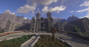 """One Last Visit - A Minecraft Horror Map (Inspired by """"Outlast"""") Minecraft Map & Project"""
