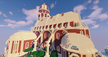 Cathedral - Capitole City Project Minecraft Map & Project