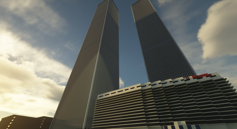 Twin Towers, with the Marriott