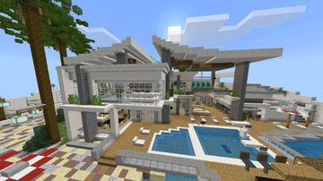 Modern Redstone Mansion [Creation] [Redstone] Minecraft Map & Project