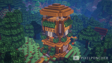 Watchtower - NEW YEAR SPECIAL Minecraft Map & Project