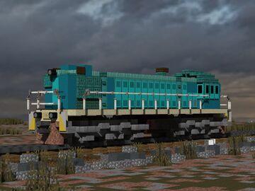 ТЭМ 1 switcher locomotive Minecraft Map & Project
