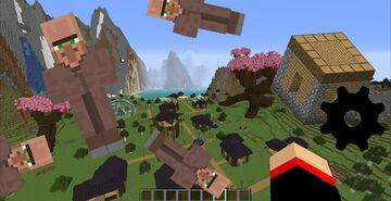 Custom Village Minecraft Map & Project