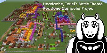 Heartache Complex Redstone Music Machine Minecraft Map & Project