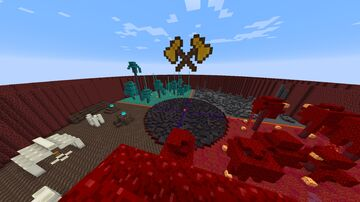 Nether Themed PvP map Minecraft Map & Project