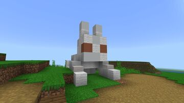 Cute Easter Bunny Minecraft Map & Project